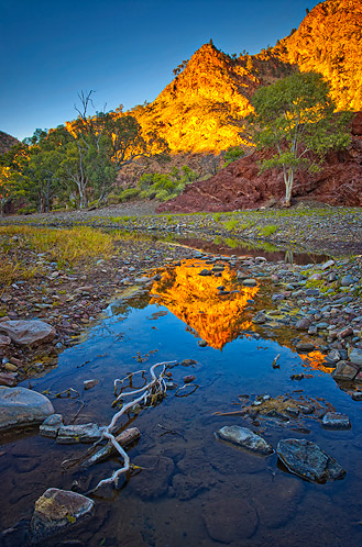 Brachina Reflection, Flinders Ranges, South Australia