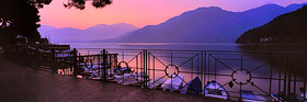 Dawn on Lake Como, Italy