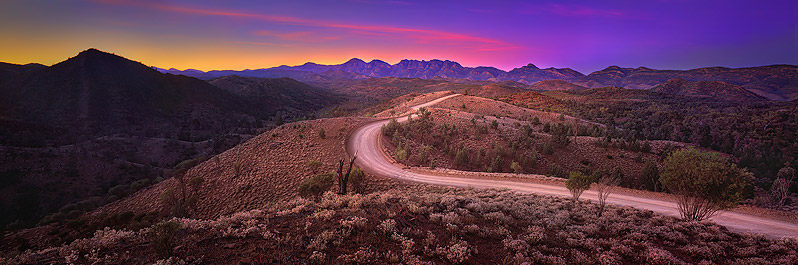 Road to enlightenment, Flinders Ranges, South Australia