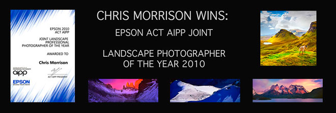 2010 ACT AIPP Joint Landscape Photographer of the Year